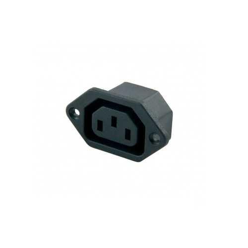 Power Soket - Kulaklı Power Soketi - Dişi