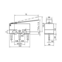 KW10-Z2P Micro Switch - Thumbnail