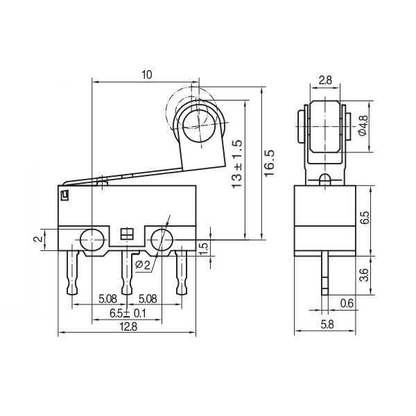 KW10-Z5P Micro Switch
