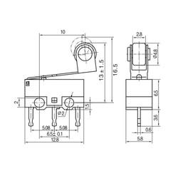 KW10-Z5P Micro Switch - Thumbnail