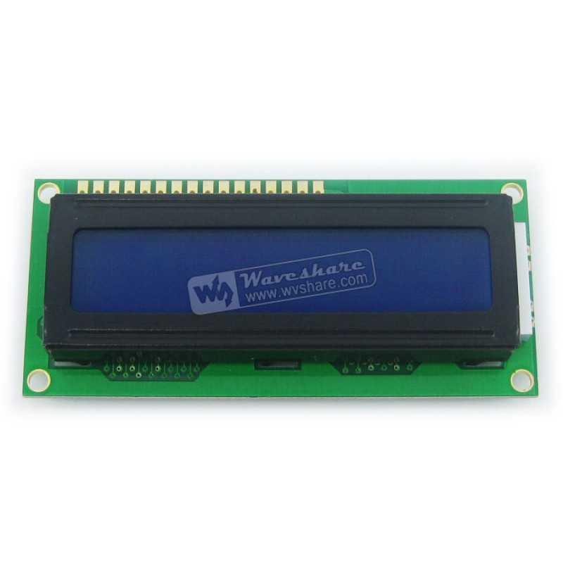 LCD1602 (5V Mavi Arka Işık)