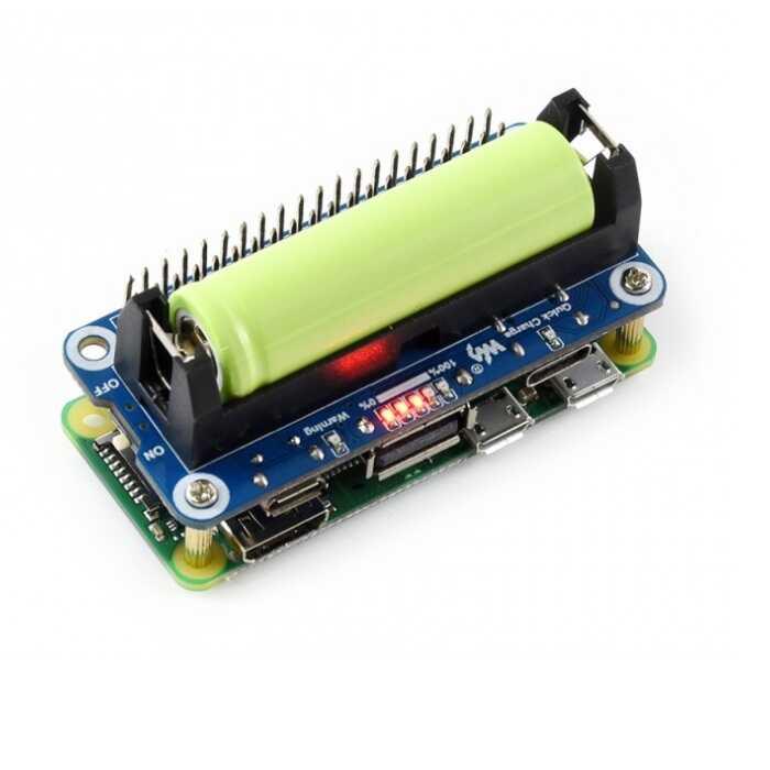Raspberry Pi Li-ion Pil Modülü - 5V Çıkış