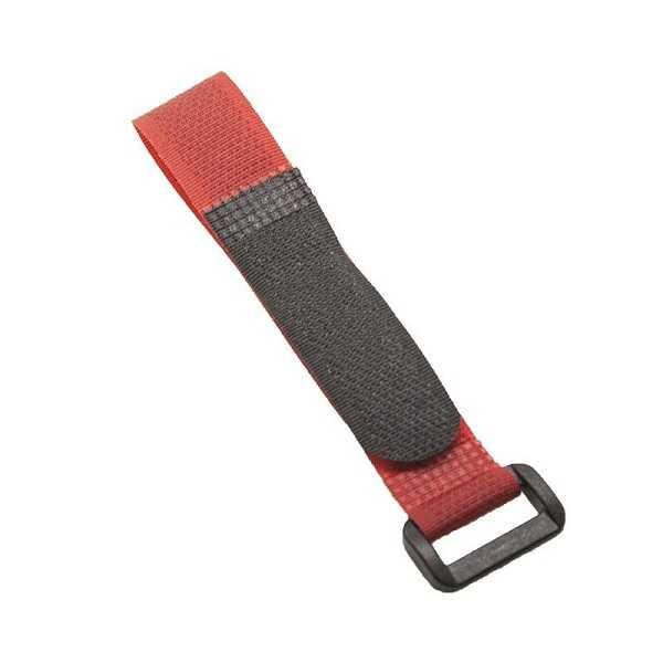 Lipo Pil Tutucu Cırt Bant 20x200mm - Kırmızı