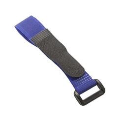 Lİ-PO PİL - Lipo Pil Tutucu Cırt Bant 20x200mm - Mavi