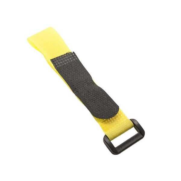 Lipo Pil Tutucu Cırt Bant 20x200mm - Sarı