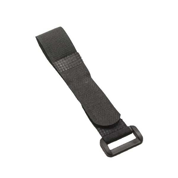 Lipo Pil Tutucu Cırt Bant 20x200mm - Siyah
