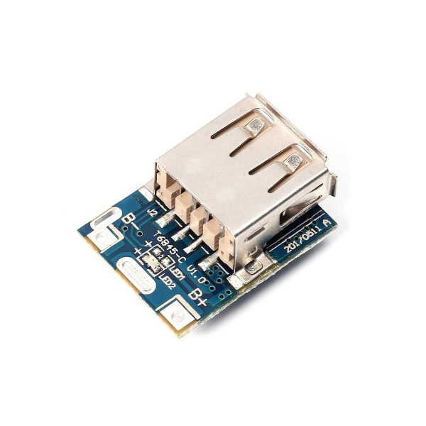 Lityum Pil Şarj Devresi - 5V USB Boost Modül