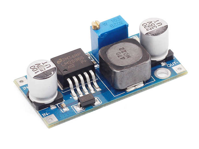 LM2596 Ayarlanabilir DC/DC Voltaj Regülatörü