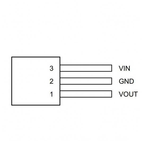 Voltaj Regülatörü - LM78L05 Regülatör