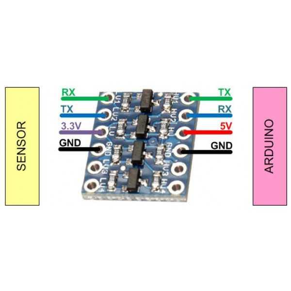 Çevirici - Dönüştürücü - Logic Level Converter 4 Kanal