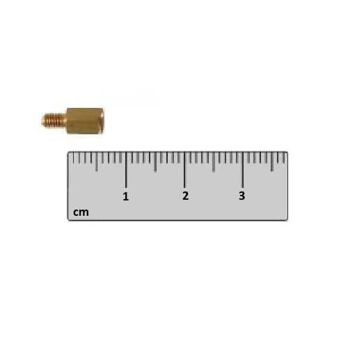 Dişi - Erkek - M3 6mm Metal Dişi-Erkek Aralayıcı - (Standoff)