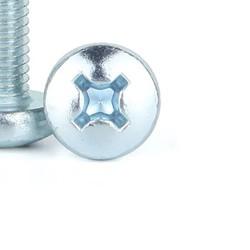 M6x15 YSB Galvaniz(Beyaz) Vida - 10 Adet - Thumbnail