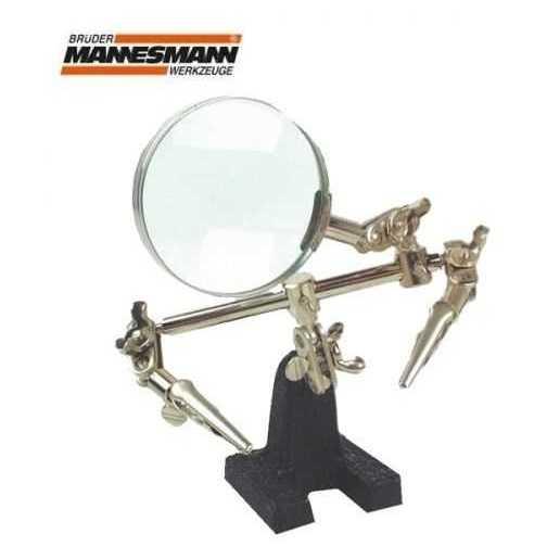 Lehimleme Araçları - Mannesmann 572 Büyüteç ve Kıskaçlı Mini Çalışma Standı