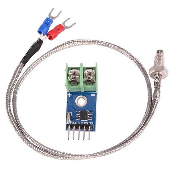 Sıcaklık - Nem - MAX6675 K-Tipi Termokupl Sensör