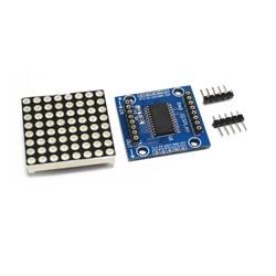 MAX7219 - 8X8 Dot Matrix Kartı - Thumbnail