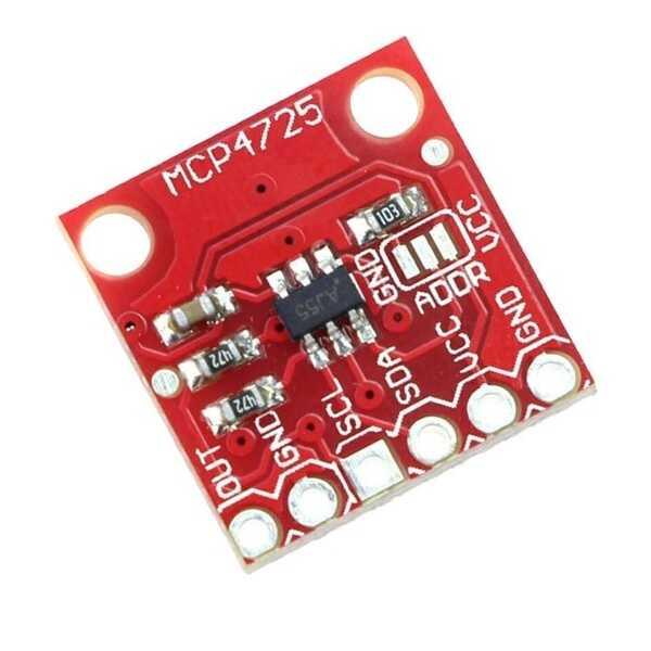 MCP4725 I2C DAC Modülü
