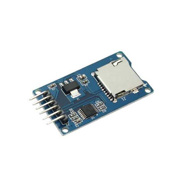Arduino Uyumlu Sensör - Modül - Mikro SD Kart Modülü