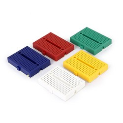 Mini Breadboard - Sarı - Thumbnail