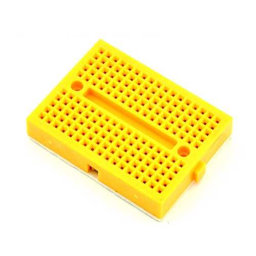 Breadboard - Mini Breadboard - Sarı