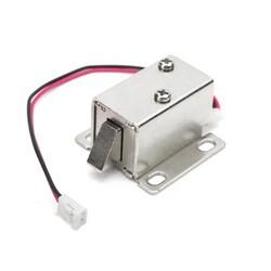 Mini Elektronik Solenoidli Kilit Mandalı - 12V - Thumbnail