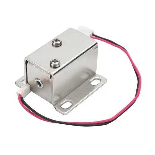 Mini Elektronik Solenoidli Kilit Mandalı - 12V