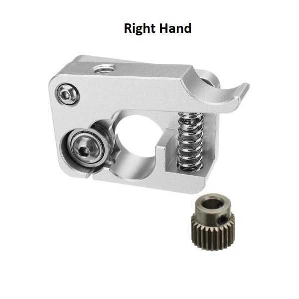 3D Yazıcı Parçaları - MK10 Alüminyum Extruder Blok Seti-Right Hand