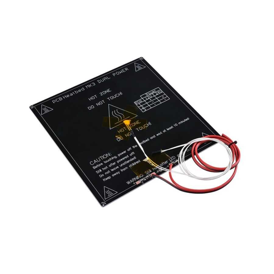 MK3 Isıtıcı Tabla Seti - 214x214mm