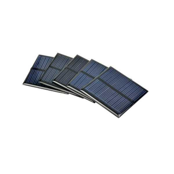 Güneş Paneli - Pili - Monokristal Güneş Pili-1.5V/250mA-52x52mm