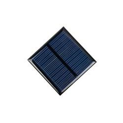 Monokristal Güneş Pili-1.5V/250mA-52x52mm - Thumbnail