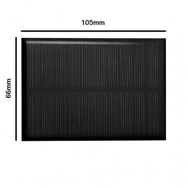 Monokristal Güneş Pili-6V/150mA-105x66mm
