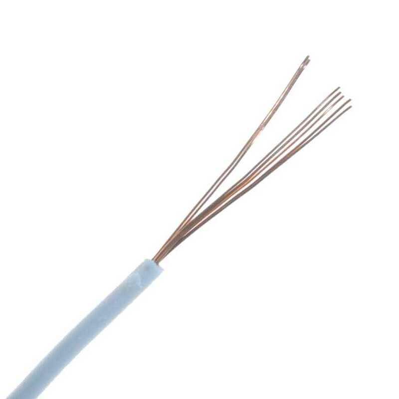 Montaj Kablosu Rulosu - 15mt, Çok Damar, Beyaz
