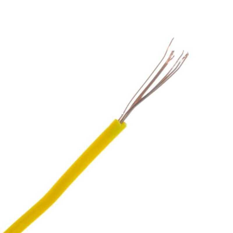Montaj Kablosu Rulosu - 15mt, Çok Damar, Sarı