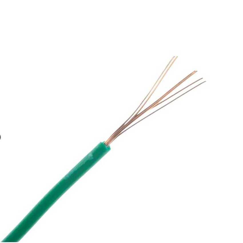 Montaj Kablosu Rulosu - 15mt, Çok Damar, Yeşil