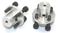 Motor Bağlantı Aparatı 3mm Delikli (2 Adet) - Thumbnail