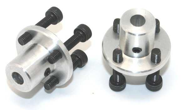 Motor Bağlantı Aparatı 6mm Delikli (2 Adet)