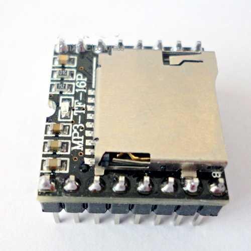 MP3-TF-16P Micro SD Kart Ses Modülü