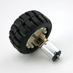 N20 Motor ve Tekerlek Seti 6V 1000RPM - Thumbnail