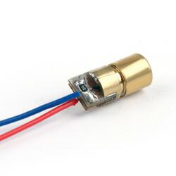 Nokta Kafalı Kırmızı Lazer Bakır 6mm 650nm 5mW - Thumbnail