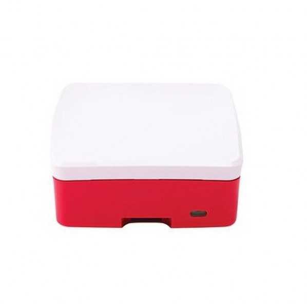 Orjinal Raspberry Pi 4 Kırmızı/Beyaz Muhafaza Kutusu