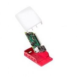 Orjinal Raspberry Pi 4 Kırmızı/Beyaz Muhafaza Kutusu - Thumbnail