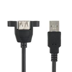 Panel Montajlı USB A Uzatma Kablosu - 1.5m - Thumbnail