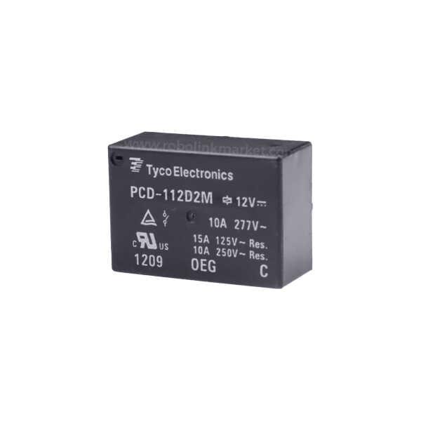 PCD-112D2M TYCO Röle 12VDC 10A