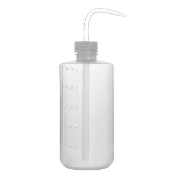 Laboratuvar Malzemeleri - Piset 500ml Şeffaf (Yıkama Şişesi) - PE Plastik