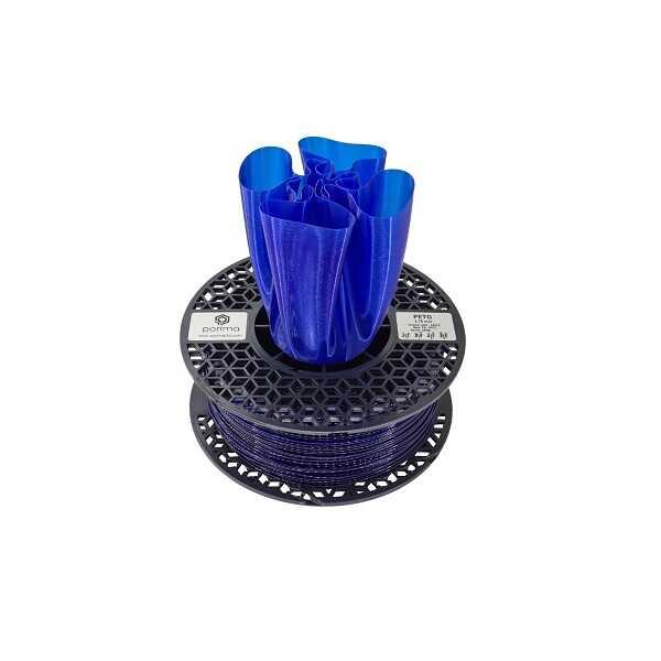 PETG - Porima PETG Transparan Filament Gece Mavi 1.75mm 1000g