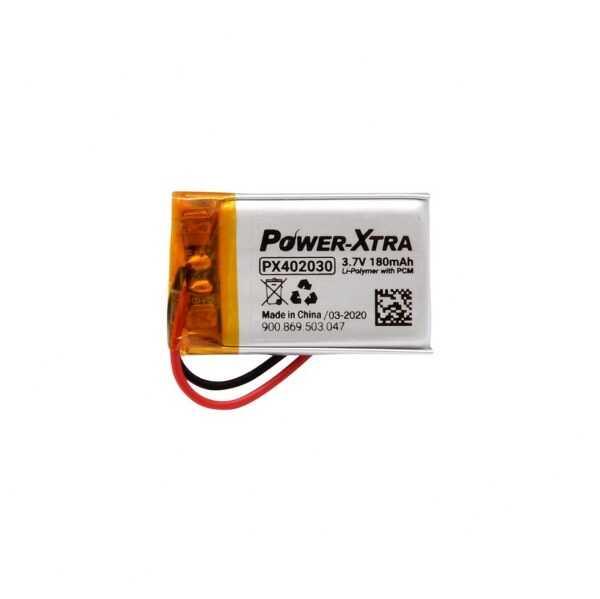 Power-Xtra PX402030 1S 3.7V 180 mAh Li-Po Pil - Devreli