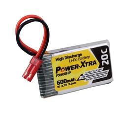 Power-Xtra PX600HP 1S 3.7V 600 mAh(20C) Li-Po Pil - Thumbnail