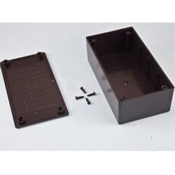 PR-120 Plastik Proje Kutusu- Siyah - Thumbnail