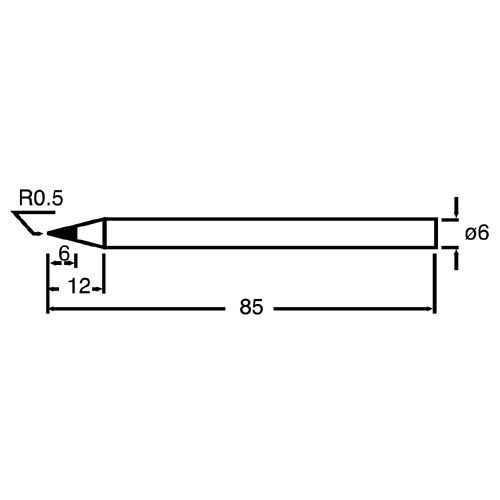 Proskit 60W Havya Ucu - SI-S120T-6B