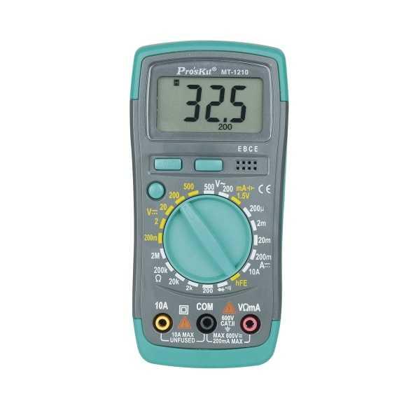 Multimetre - Proskit Dijital Multimetre - MT-1210
