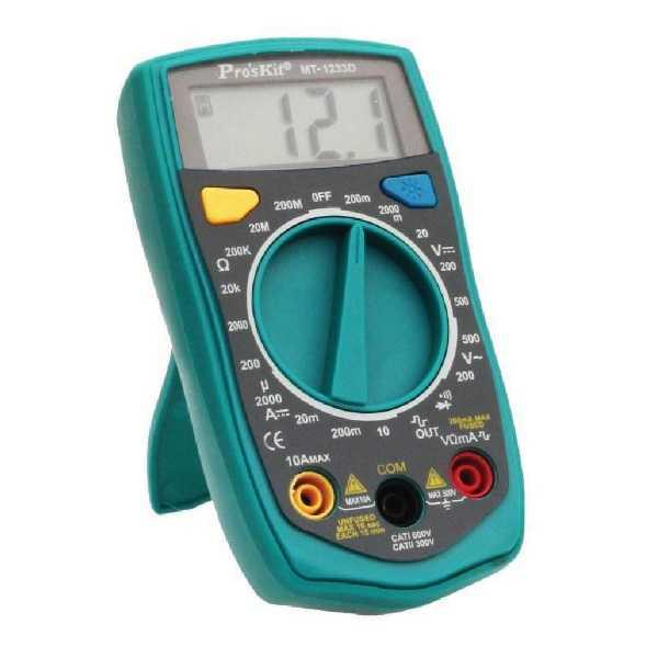 PROSKIT Dijital Multimetre - MT-1233D